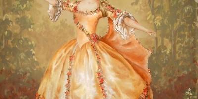 Gemaelde – Tänzerin