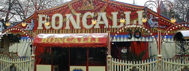 Zirkuszelt – Roncalli