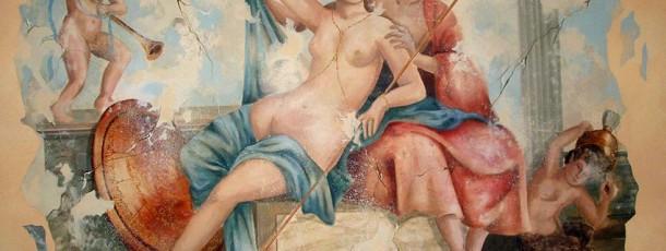 Römisches Fresko